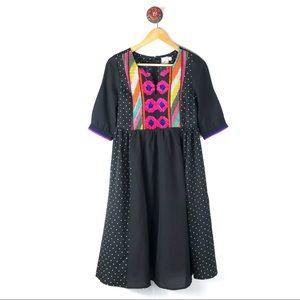 ASOS 4 dress polka dot embroidered beautiful